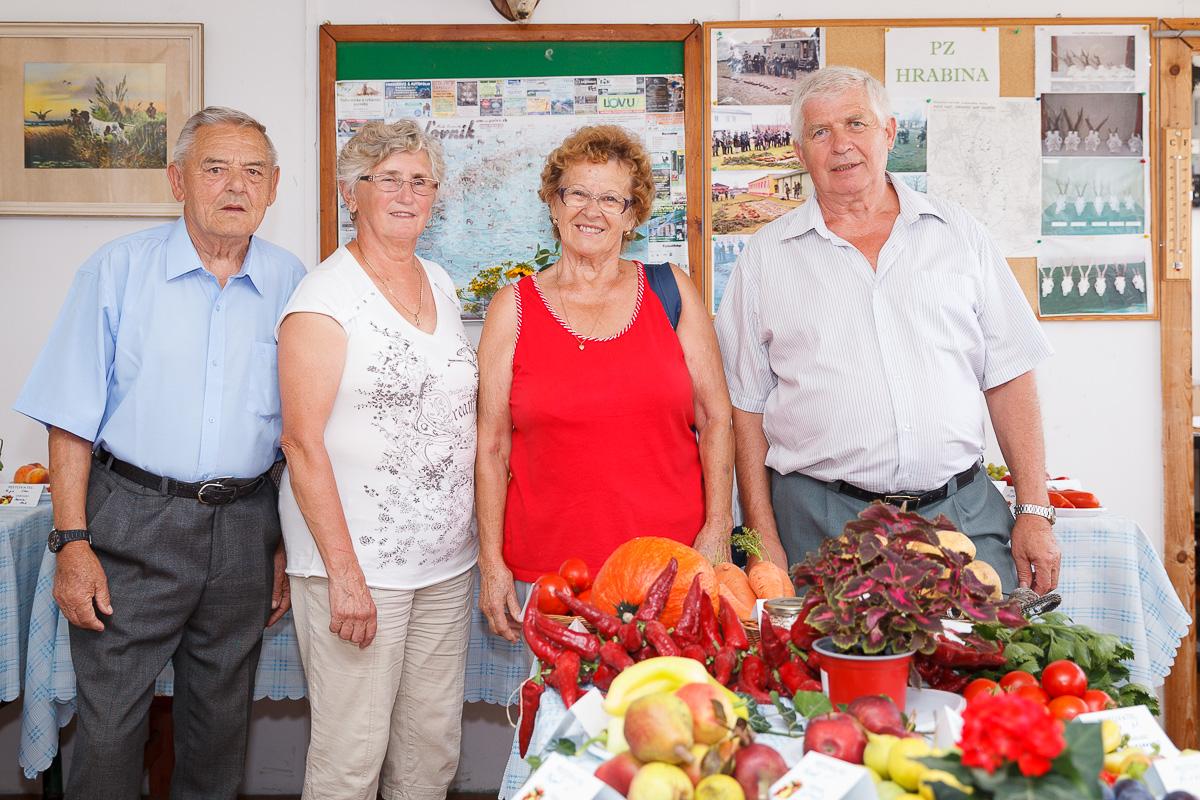 Výstava ovocia a zeleniny Pusté Sady 2018